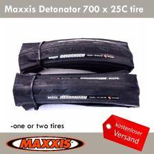 Maxxis Detonator 700 x 25C Tire Rennrad Racing Fahrrad Clincher Reifen Schwarz