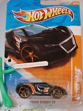 2011 Hot Wheels Track Stars ULTRA RAGE #80∞Black∞orange-OH5∞∞2012 Case A