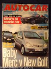 AUTOCAR Magazine 29th October 1997 Merc A-Class / Golf