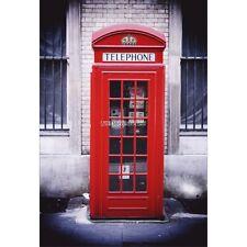 Adesivi murale decocrazione: Cabina telefonica Londra 1680