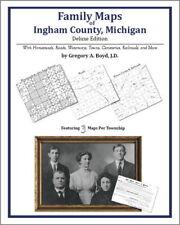 Family Maps Ingham County Michigan Genealogy MI Plat