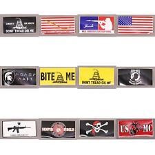 NWT Ruffin Flag Bumper Sticker Patriotic Military 3-3/4