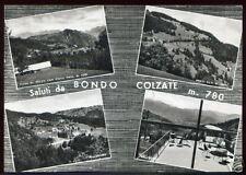 SALUTI DA BONDO COLZATE - VEDUTINE (BERGAMO)