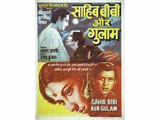 Home ART PRINT-MOVIE FILM Bollywood Poster-Sahib Bibi Aur Gulam-A4, A3, A2, A1