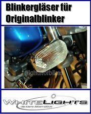 blanc clair Lunettes de clignotants Yamaha XJ 600 N S DIVERSION transparent