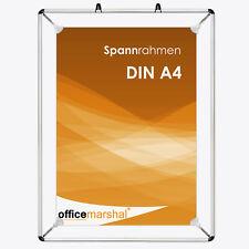 1 x Spannrahmen Plakatrahmen Werberahmen Posterhalter Bilderrahmen Größe DIN A4