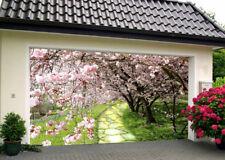 3D Blooming Trees Garage Door Murals Wall Print Decal Wall Deco AJ WALLPAPER IE
