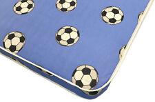 Kids boys football blue spring mattress  - 2ft6,3ft,4ft,4ft6,5ft,6ft