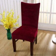 Extensible Renard Pile Tissu Chaise Housse de siège Maison piéce Marriage