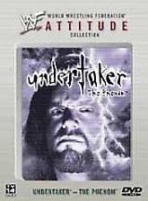 WWF - Undertaker: The Phenom (DVD, 2002) WWE Rare