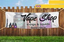 Vape Shop E-cig Liquids Sold Here Heavy Duty PVC Banner Sign 3002