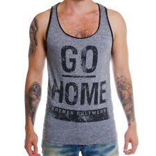 Baxmen Sommer Tank Top Muscle Shirt tiefer Ausschnitt Slimfit Herren Männer *