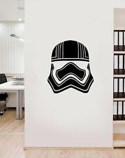 Star Wars Captain Phasma Helmet Vinyl Wall Art Decal Sticker LSCF1