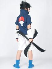 Anime Naruto online Uchiha Sasuke Genin Halloween one piece manga Costume XS~XXL