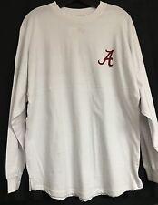 "University of Alabama White ""Rammer Jammer"" Spirit Jersey With Crimson Writing"