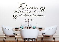 Dream The Future cuarto del Bebé Infantil Adhesivo para dormitorio pared imagen