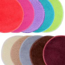 Absorbent Soft Memory Foam Bath Bedroom Floor Shower Round Mat Rug Non-slip UK
