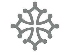 Sticker Croix Occitane - plusieurs tailles et coloris - 0050