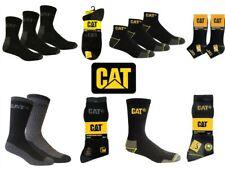 "CAT Caterpillar /""anti-sudore/"" Calzini Sportivi Calze 10 paia Nero 46-50"