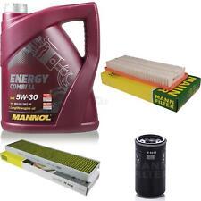 Ölwechsel Set 5L MANNOL Energy Combi LL 5W-30 MANN Inspektions Service 10046721
