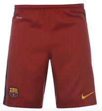 Nike FC Barcelona Heim Shorts 2015 2016 alle Größen Rot Blau Neu mit Etikett