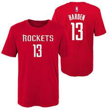 NBA Houston Rockets James Harden Nome & Numero T-Shirt Maglietta Ragazzo