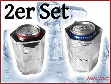 2er Set Dosenkühler 0,33 Rapid Cool Flaschenkühler Eis Eiskühler Ice Kühlakku