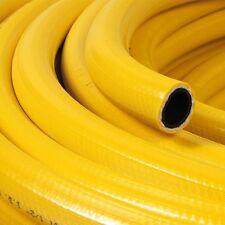 Amarillo Trenzado Flexible Manguera De Pvc De Tubo De Agua Aire Aceite gases Reforzado