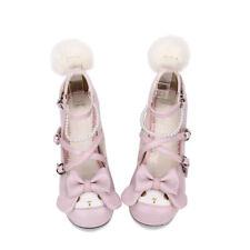 pink lolita Shoes Schuhe Stöckel fairy tale sweet bow Prinzessin rosa barock New