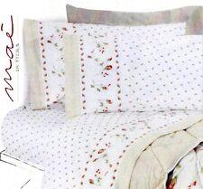 Completo letto lenzuola in Flanella, 100% Cotone. FUJI, MAE. Singolo, 1 piazza.