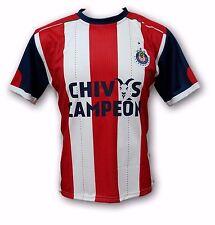 Chivas del Guadalajara Home Jersey 12 Stars Logo Chivas Campeón 2017