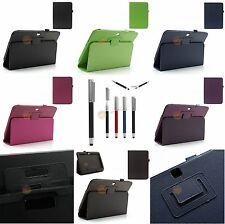 Stand Leder Tasche für Samsung Galaxy Tab 3 10.1 P5200, P5210 + Eingabestift