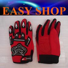 RED Kids Racing Motorcycle Gloves Motor Bike Gear Motocross Child Boy Girl PW50