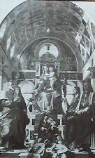 Madonna and Saints and Angels, Bartolomeo Montagna, Magic Lantern Glass Slide