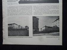 1929 Nürnberg St. Johannis Wohnanlage