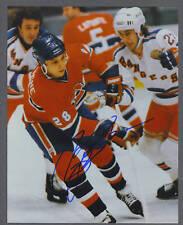 Pierre Larouche signed Montreal Canadiens 8 x 10 photo