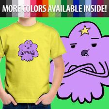 Adventure Time Sassy LSP Lumpy Space Princess Fun Unisex Kids Tee Youth T-Shirt