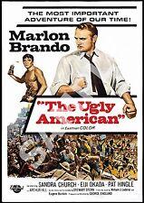 El feo Película Vintage Americana: Publicidad Cartel reproducción.