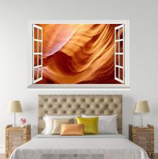 3D Cave View 318 Open Windows WallPaper Wandbilder Wall Print AJ Jenny
