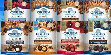 Rickland Orchards Greek on the go Greek Yogurt coated Bites Snacks ~ Pick One