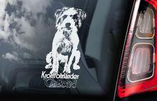 Kromfohrländer on Board - Car Window Sticker - Kromfohrlander Dog Sign Decal V01