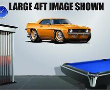 COPO 427 1969 Camaro Aluminum 427 Wall Decal Sticker Graphic Game Room Garage