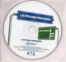 MAX PEZZALI 883 CD SINGLE Lo strano percorso 1 TRACCIA  PROMO