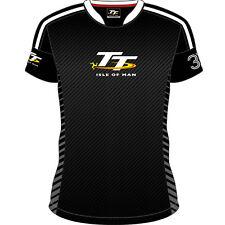 Officiel 2017 Isle of Man TT logo rayures t'shirt - 17AOP1