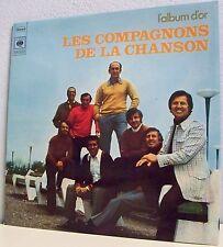 33 tours COMPAGNONS DE LA CHANSON & Edith PIAF Vinyle LP L'ALBUM D'OR -CBS 65356