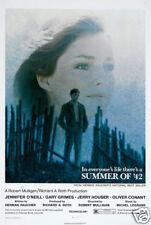 Summer of '42 Jennifer O'Neill movie poster print