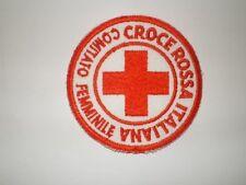 Patch Croce rossa Italiana comitato femminile (araldica,militaria)