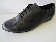 Niña Clarks Lace Up De Fijación Semi-Brogue Zapatos Enca Encaje