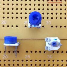 1k Ohm  0.2W Lin 1-Turn Cermet Trimmer Horizontal Bourns 3306F 6mm Multi Qty