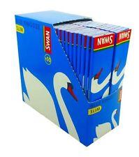 SWAN KINGSIZE BLUE SLIM SMOKING  PAPERS  5 10 20 40